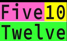 Five10Twelve Logo