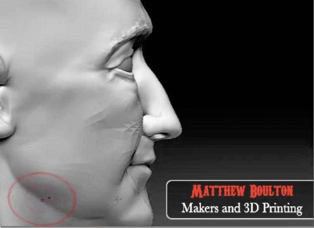 xHumed: Matthew Boulton (3D Printing \ Stop-Motion Animation)